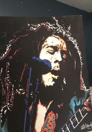 Bob Marley poster for Sale in Virginia Beach, VA