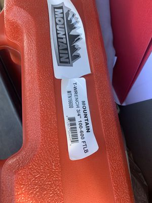 """3/4"""" torque wrench for Sale in West Valley City, UT"""