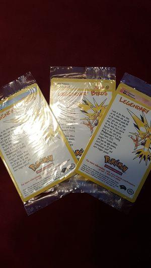 WotC Legendary Birds Pokémon Promo cards. for Sale in Falls Church, VA