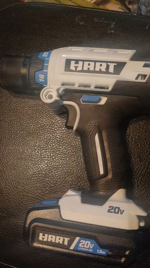 Hart hammer drill used once for Sale in Burnsville, MN