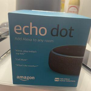 Echo Dot (3rd Gen) - Smart speaker with Alexa for Sale in New Haven, CT