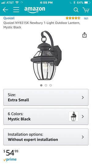 Outdoor lantern for Sale in Sudley Springs, VA