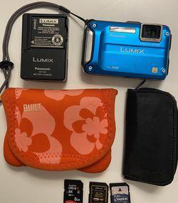 Panasonic Lumix DMC-TS3 12.1 MP Rugged/Waterproof Digital Camera with Accessories for Sale in Everett,  WA