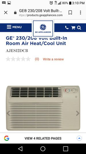 Air conditioner/heater... Look at plug in pics for Sale in Stockton, CA