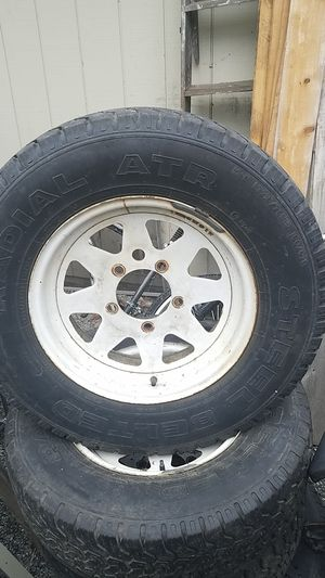 Samurai/Ford wagon wheels tires for Sale in Kent, WA