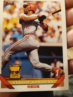 1993 Topps All Star Rookie Reggie Sanders for Sale in Albuquerque,  NM