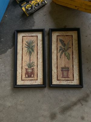 Used home interior decor pictures for Sale in Fontana, CA