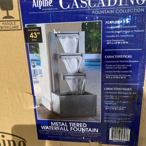 Metal Water Fountain for Sale in Bell, CA