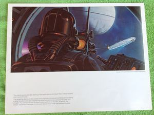 """Star Wars 1977 print (11"""" x 14"""") for Sale in Coppell, TX"""