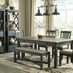 🦋$39 Down Payment 💥Tyler Creek Black/Gray Dining Room Set | D736 by Ashley for Sale in Annapolis Junction, MD