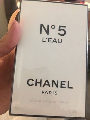 N5 Chanel L'EAU Perfume $100 Dollars/ Usual Price=$135 for Sale in Moraga, CA