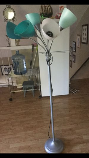 5 light standing lamp for Sale in Corona, CA