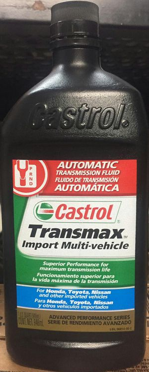 Aceite para trasmicion automatica castrol for Sale in Los Angeles, CA