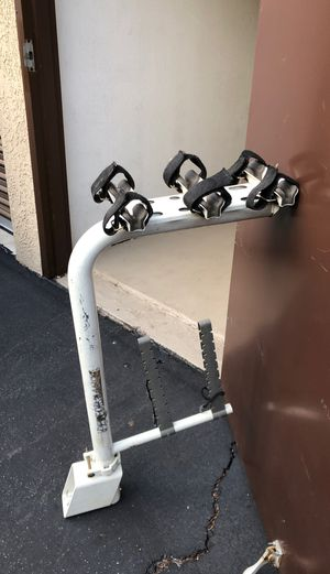 Bike Rack Performance. Designed to fit in trailer hitch for Sale in Glendale, CA