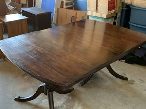 1940 Duncan Phyfe mahogany dining table for Sale in Portland, OR