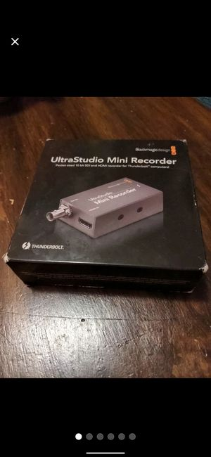 Blackmagic Ultra Studio Recorder for Sale in Queens, NY