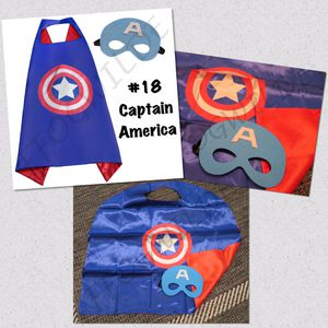 Captain America Cape and Mask Set (Great for Easter Baskets!) for Sale in South Jordan, UT