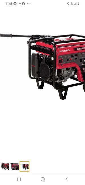 Honda EM6500 Generator for Sale in Modesto, CA