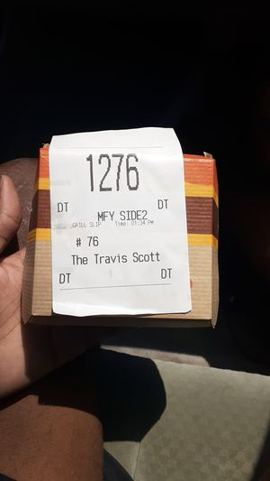 Travis Scott burger box for Sale in Homestead, FL