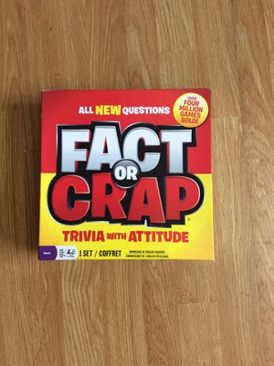 FACT OR CRAP/ ALL NEW BOARD GAME/ OVER 4 MILLION COPIES SOLD/ BOARD GAME/ QUARANTINE for Sale in Cerritos, CA