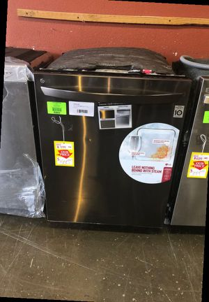 Brand New LG 24 in. Top Control Built-In Tall Tub Smart Dishwasher in Black Stainless Steel w/ QuadWash, SmartThinQ, 3rd Rack, 46 dBA QARNU for Sale in Ontario, CA