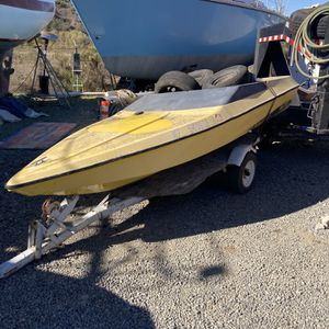 Mini Speed Boat for Sale in San Diego, CA