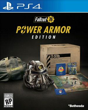 Fallout 76 Power Armor Edition for the PS4 for Sale in Fort Lauderdale, FL