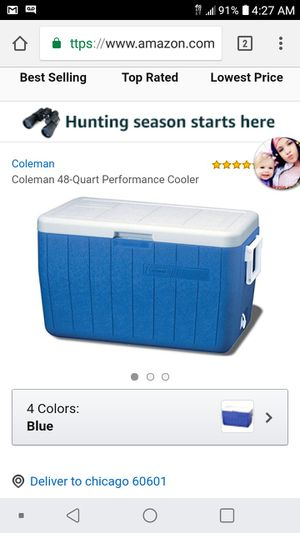 Coolers large and mediun for Sale in Columbus, OH