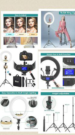 """TBJSM ring light kit 18"""" 6000k dimmable LED ring light . for Sale in Lecanto,  FL"""