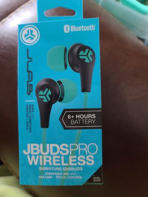 JBUDS PRO WIRELESS SIGNATURE EARBUDS BLUETOOTH Wireless earbuds with 10 hours playtime, EQ3 Sound and microphone for Sale in Wauseon, OH