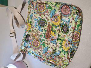Canvas Messenger Bag Cross Body Purse Women Travel Purse Shoulder Satchel Floral Pattern for Sale in San Diego, CA
