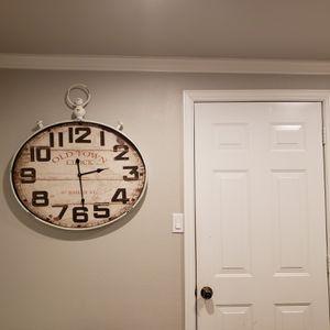 Reloj de pared Vintage Style for Sale in Dallas, TX