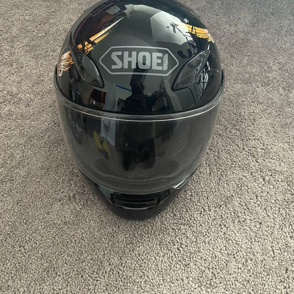 SHOEI and ICON motorcycle helmet