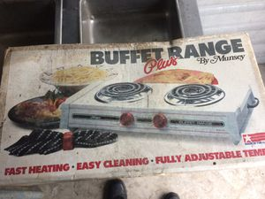 Double electric burner ( stove) for Sale in Cutler Bay, FL