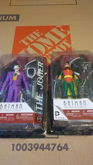 Robin and joker action figures for Sale in Chicago, IL