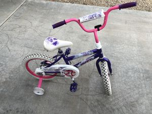 "16"" girls kids bike removable training wheels for Sale in Glendale, AZ"