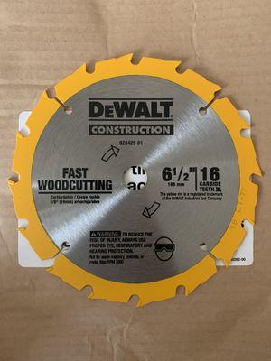 DeWalt Circular Saw Steel Blade for Sale in Modesto, CA