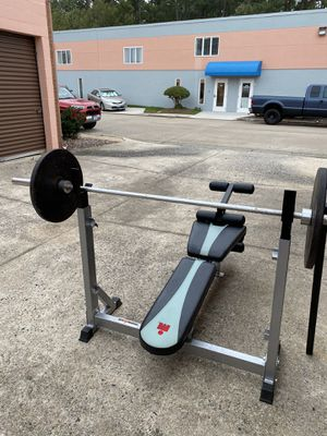 Ironman Weight bench set for Sale in Portsmouth, VA
