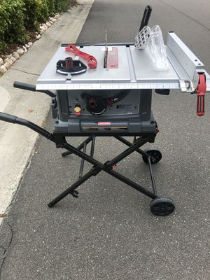 10 inch Table Saw by craftsman for Sale in Durham, NC