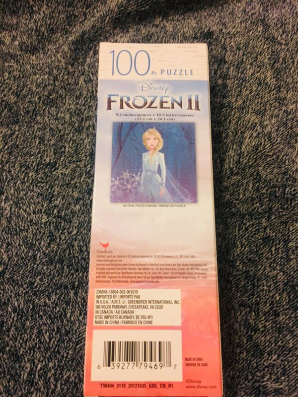 Frozen 2 Match Game and Puzzle