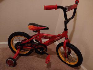 Cars kids Bike with training wheels for Sale in Murfreesboro, TN