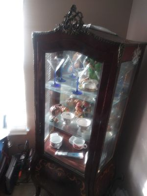 Antique French Display China Cabinet Curio for Sale in Gaithersburg, MD
