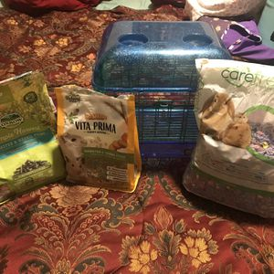 Small Hamster Cage With Extras for Sale in DeFuniak Springs, FL