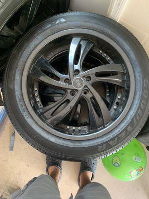 20 inch rims off 2015 Ford Explorer new tires for Sale in Sebring, FL