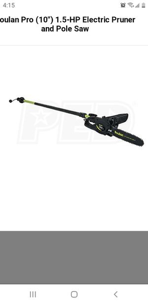 Electric chainsaw with pole for Sale in Winter Haven, FL
