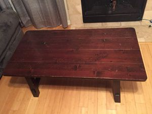 Wood Coffee Table for Sale in Austin, TX