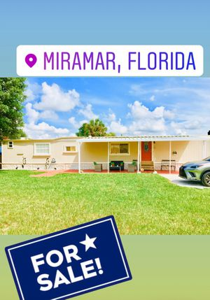 Mobile Home/Casa móvil/Trailer For Sale $55,000 ALL AGES❣️ for Sale in Hialeah, FL