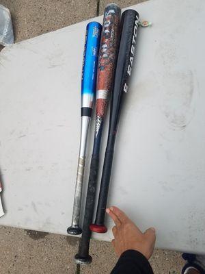 Set of 3 Kids Baseball Bats for Sale in Dearborn Heights, MI