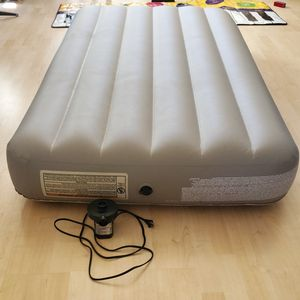 Air Mattress & pump for backpacking, camping, camper, tent for Sale in Harbison Canyon, CA
