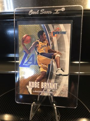 2000 Fleer Kobe Bryant Basketball Card - Lakers Jersey 8 Black Mamba Collectible - Ready for PSA or Beckett 9 / 10 MINT GEM Grade - $29 OBO for Sale in Carlsbad, CA